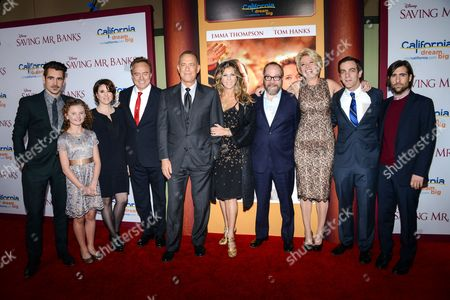 Editorial image of 'Saving Mr. Banks'  film premiere, Los Angeles, America - 09 Dec 2013