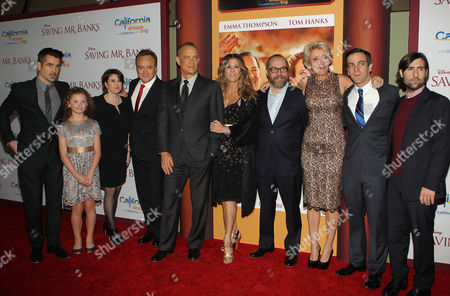 Editorial picture of 'Saving Mr. Banks'  film premiere, Los Angeles, America - 09 Dec 2013
