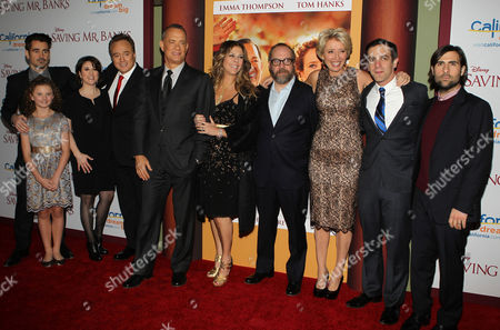 Editorial photo of 'Saving Mr. Banks'  film premiere, Los Angeles, America - 09 Dec 2013