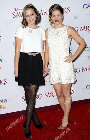 Stock Picture of Candace Cameron Bure and daughter Natasha Valerievna Bure
