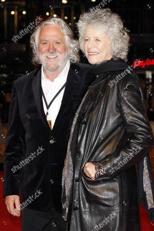 Stock Photo of Dan Hennah and wife Chris