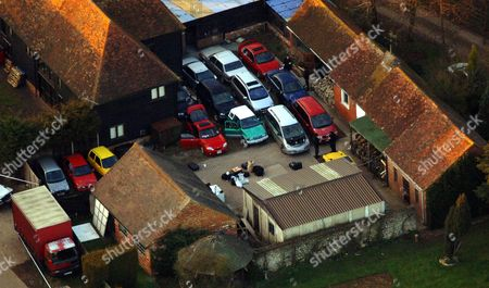 Police Load Boxes From The Main House At The Kent Farm Belonging To Millionaire Crook John Fowler Which They Are Searching In Connection With The 53m Heist This Was Britain's Biggest Ever Cash Robbery Of More Than Ii53 Million Which Took Place On Wednesday February 22 2006 Following A Raid On The Securitas Cash Depot In Tonbridge Kent