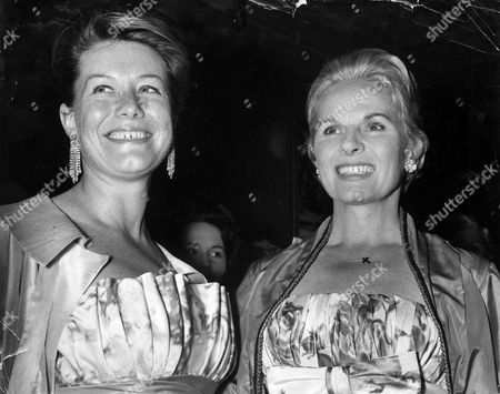 Ann Todd And Nicole Milinair At The Premiere Of 'serious Change' At The Carlton Theatre.