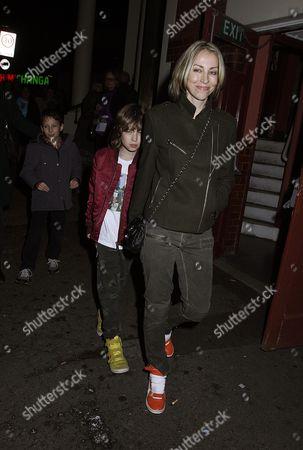 Natalie Appleton and son Ace Billy Howlett