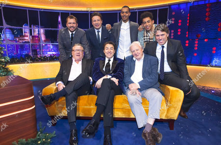 Ray Winstone, Jonathan Ross, Sir David Attenborough, Jimmy Doherty, Jamie Oliver, Rizzle Kicks and John Bishop.