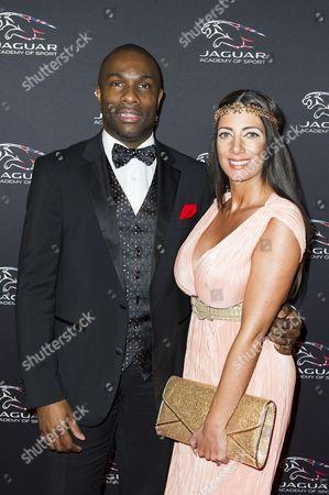 Derek Redmond and wife Maria Yates