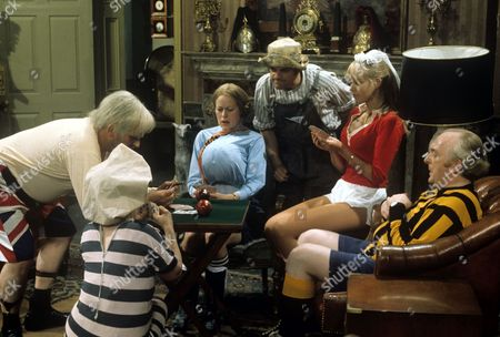 Ronnie Barker, Josephine Tewson, David Jason, Moira Foot and Frank Gatliff