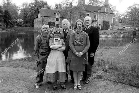 David Jason, Ronnie Barker, Josephine Tewson and Frank Gatliff