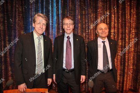 Robert J Shiller, Lars Peter Hansen, Eugene Fama