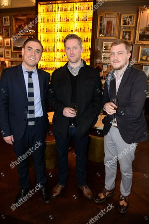 James Mullinger, Russ O'Connell and guest