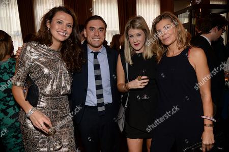 Olivia Cole, James Mullinger and guests