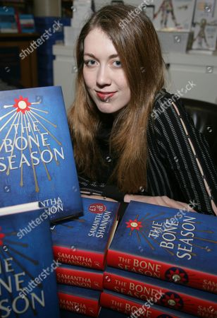 Samantha Shannon promotes her book The Bone Season