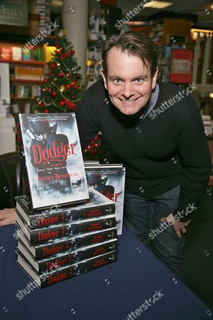 Stock Photo of James Benmore promotes his book Dodger