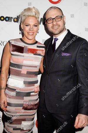 Pink and Bill Werde, Editorial Director, Billboard