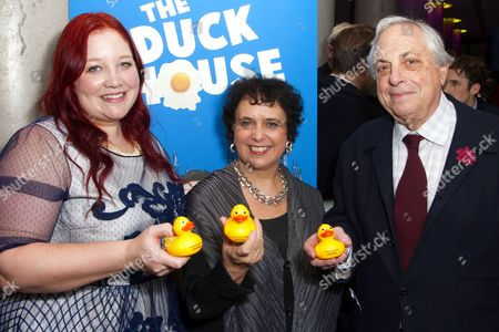 Editorial image of 'The Duck House' play press night, Trafalgar Hotel, London, Britain - 10 Dec 2013
