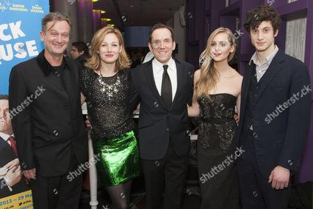 Simon Shepherd (Sir Norman Cavendish), Nancy Carroll (Felicity), Ben Miller (Robert Houston MP), Diana Vickers (Holly) and James Musgrave (Seb)