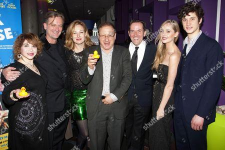 Debbie Chazen (Ludmilla), Simon Shepherd (Sir Norman Cavendish), Nancy Carroll (Felicity), Dan Patterson (Author), Ben Miller (Robert Houston MP), Diana Vickers (Holly) and James Musgrave (Seb)