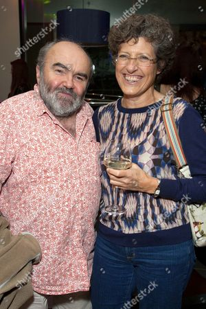 Stock Image of Andy Hamilton and Libby Asher