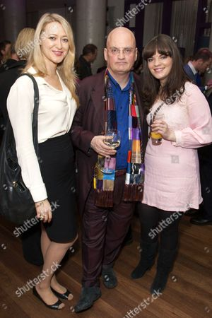 Siobhan Hewlett, Terry Johnson (Director) and Alice Bailey Johnson