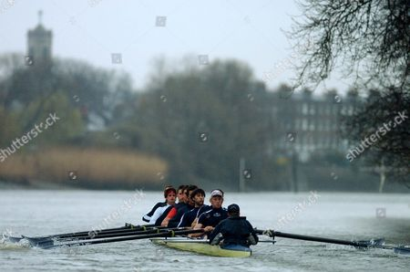 Boat Race - Oxford Crew With Andrew Hodge.