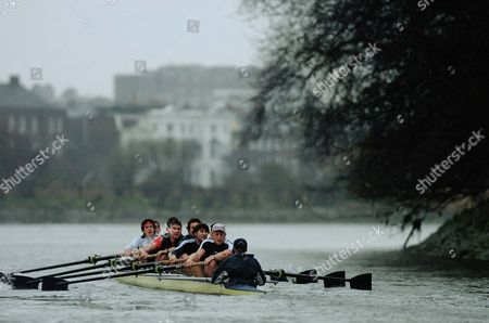 Boat Race - Oxford Crew Training With Andrew Hodge.