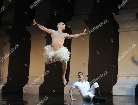 Editorial photo of Matthew Bourne's 'Swan Lake' performed at Sadler's Wells Theatre, London, Britain - 08 Dec 2013
