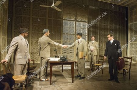 Editorial picture of 'Drawing the Line' play at the Hampstead Theatre, London, Britain - 08 Dec 2013