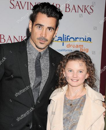 Colin Farrell, Annie Rose Buckley
