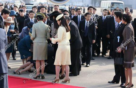 Princess Yoko collapses
