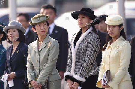 Editorial picture of Japanese Royal Family at Haneda Airport in Tokyo, Japan - 11 Dec 2013