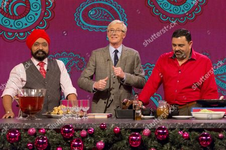 The Incredible Spicemen - Tony Singh and Cyrus Todiwala with Paul O'Grady (C)