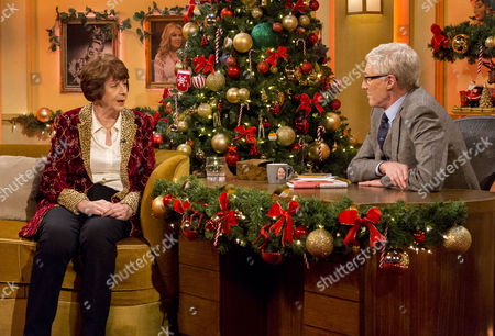 Pam Ayres and Paul O'Grady
