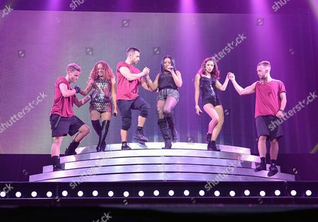 Editorial picture of The Big Reunion Christmas Party at the Capital FM Arena, Nottingham, Britain - 11 Dec 2013