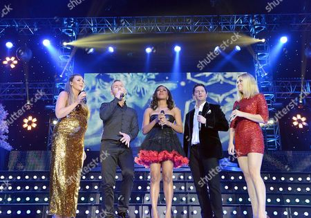 Liberty X - Michelle Heaton, Kevin Simm, Kelli Young, Tony Lundon and Jessica Taylor