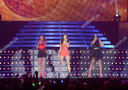 Editorial photo of The Big Reunion Christmas Party at the Capital FM Arena, Nottingham, Britain - 11 Dec 2013