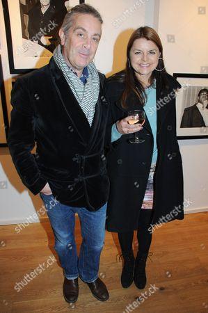 Simon Brown and wife