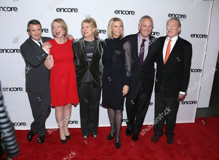 Grant Shaud, Diane English, Candice Bergen, Faith Ford, Joe Regalbuto and Charles Kimbrough