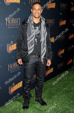 Editorial photo of 'The Hobbit:The Desolation of Smaug' Kabam Mobile Game Party, Los Angeles, America - 11 Dec 2013
