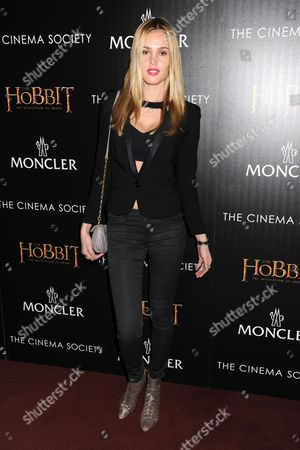 Editorial picture of 'The Hobbit: The Desolation of Smaug' film screening at the Cinema Society, New York, America - 11 Dec 2013