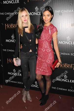 Editorial image of 'The Hobbit: The Desolation of Smaug' film screening at the Cinema Society, New York, America - 11 Dec 2013
