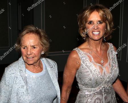Ethel Shakel Kennedy and Kerry Kennedy