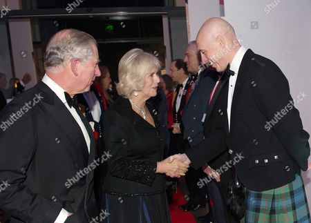 Prince Charles, Camilla Duchess of Cornwall and David Dinsmore