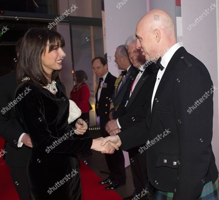 Samantha Cameron and David Dinsmore