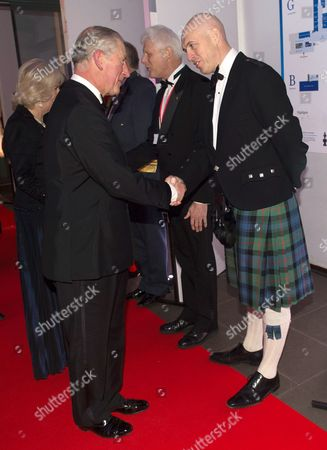 Prince Charles and David Dinsmore