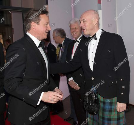 Prime Minister David Cameron and David Dinsmore