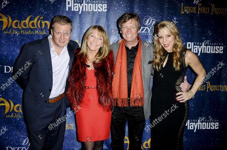 Kris Lythgoe, Bonnie Lythgoe, Nigel Lythgoe and Becky Baeling