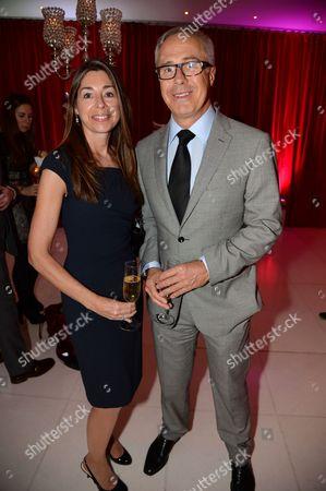 Jon Zammett, Head of Audi Cars PR international, and wife