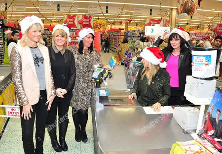 Linda Barker, Sally Lindsay, Zoe Tyler, Jo Wood and Coleen Nolan