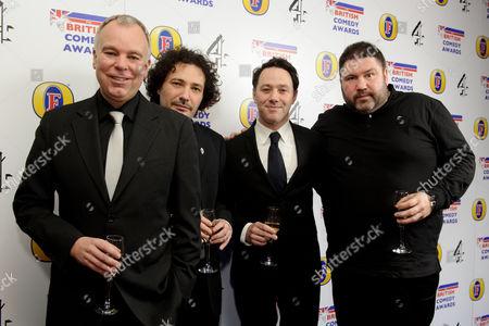 Editorial picture of British Comedy Awards, London, Britain - 12 Dec 2013
