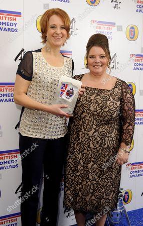 Vicki Pepperdine and Joanna Scanlan